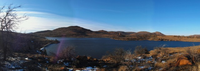 Jed Johnson Lake Panorama